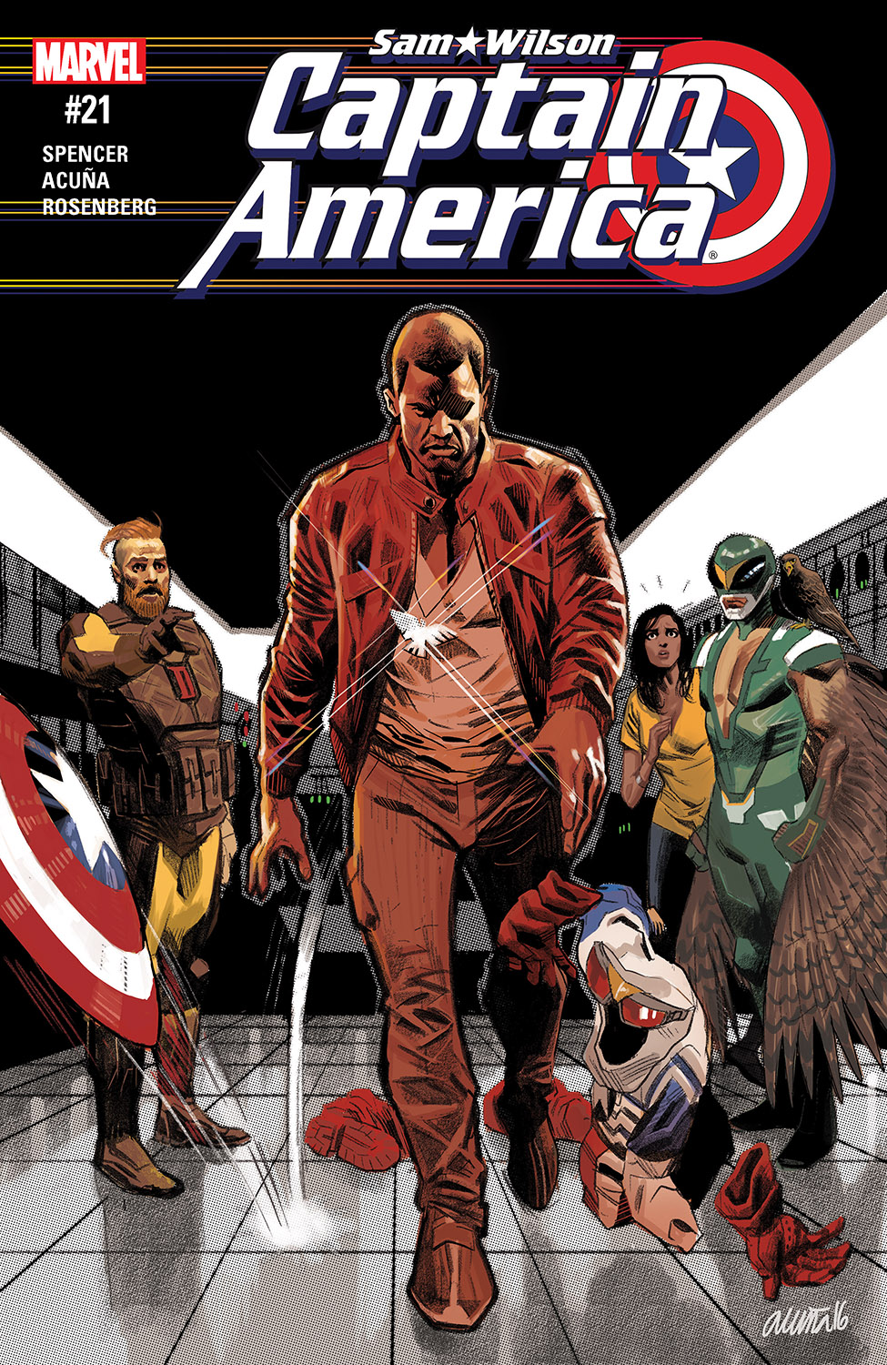 Captain America: Sam Wilson (2015) #21