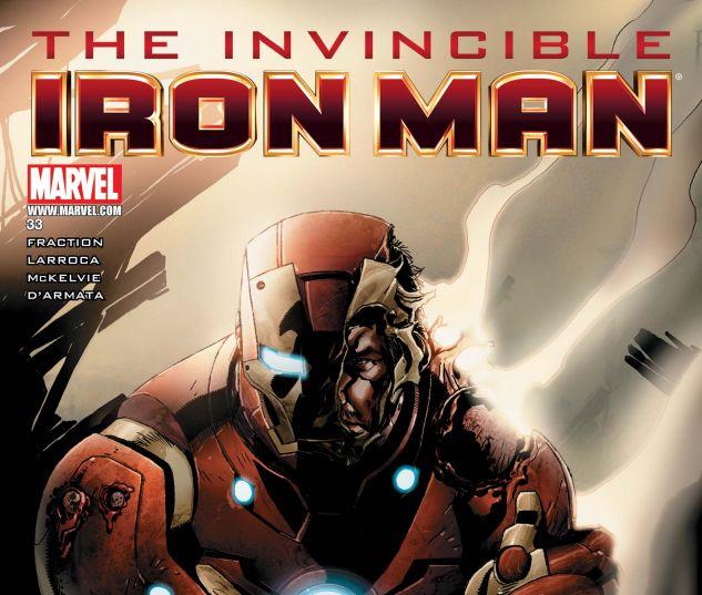 INVINCIBLE IRON MAN (2008) #33