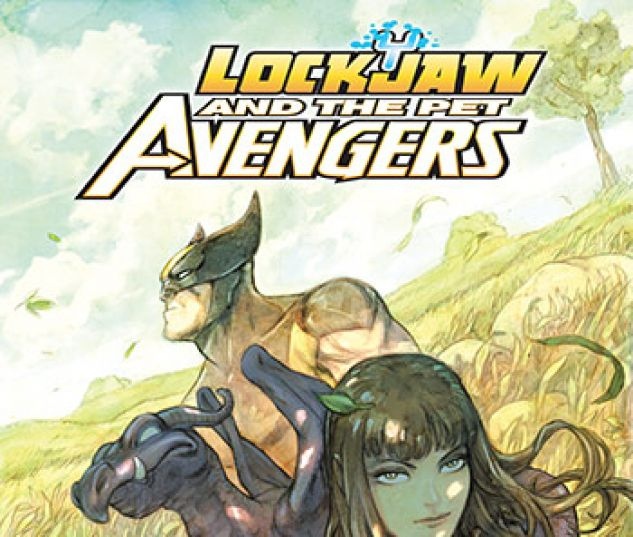 cover from Lockjaw and the Pet Avengers Infinite Comic (2017) #4