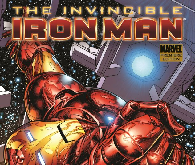 INVINCIBLE IRON MAN VOL 1 cover