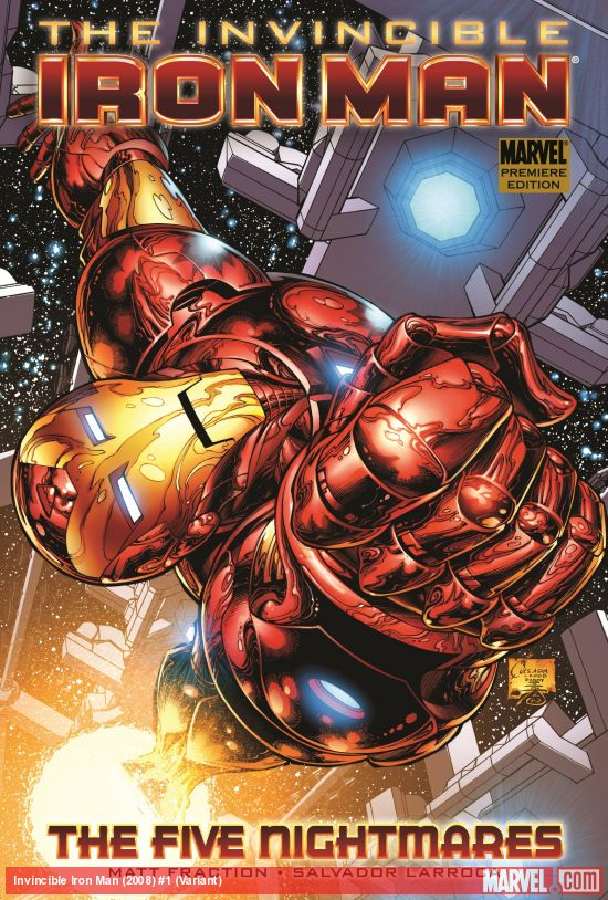 Invincible Iron Man (2008) #1 (Variant)