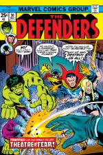Defenders (1972) #30 cover