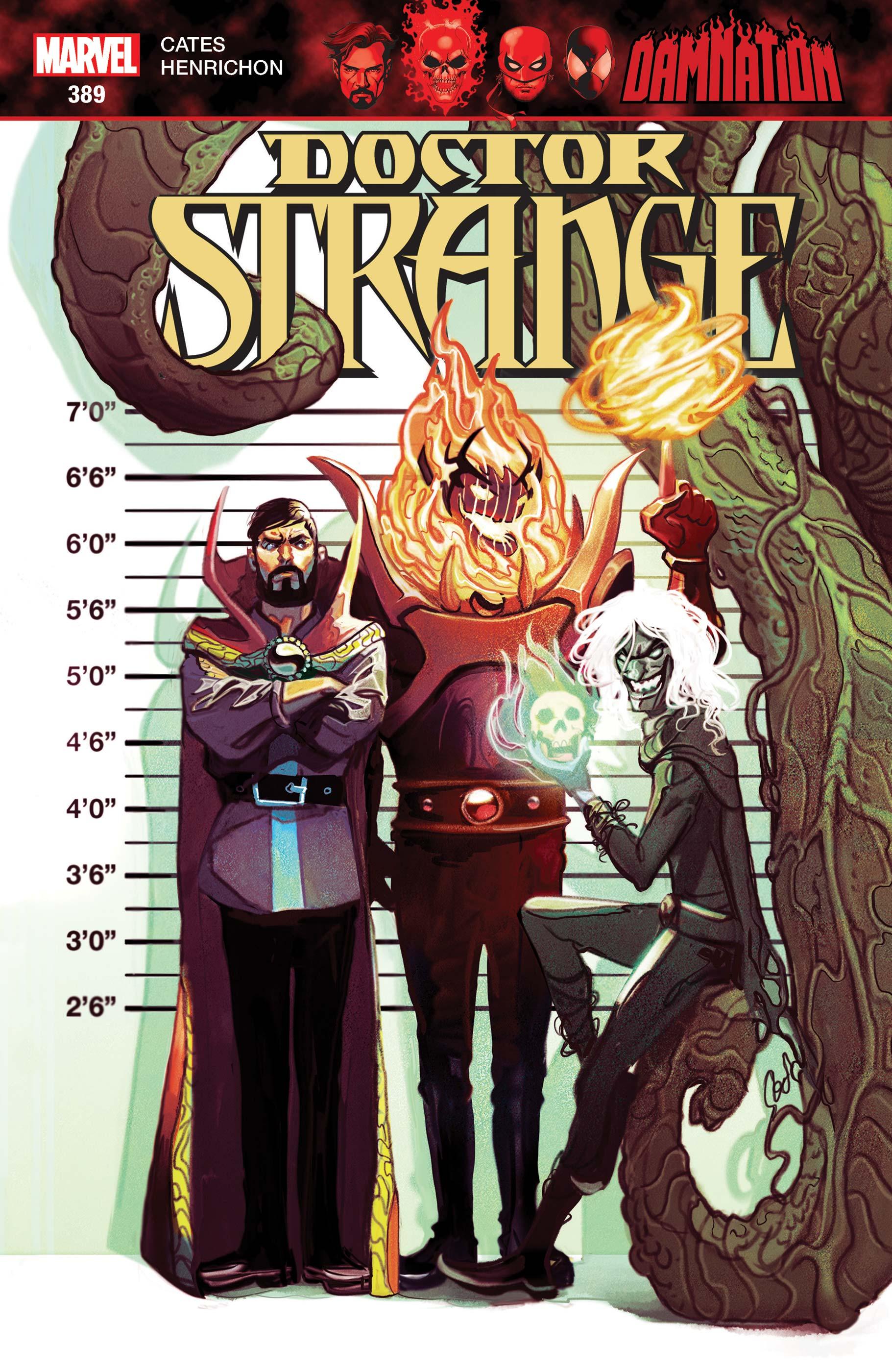 Doctor Strange (2015) #389