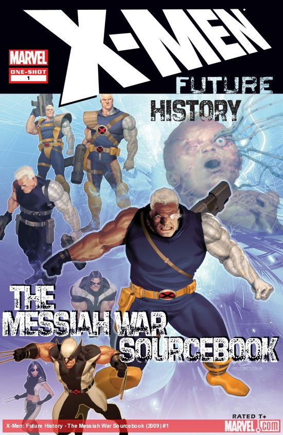 X-Men: Future History - The Messiah War Sourcebook (2009) #1