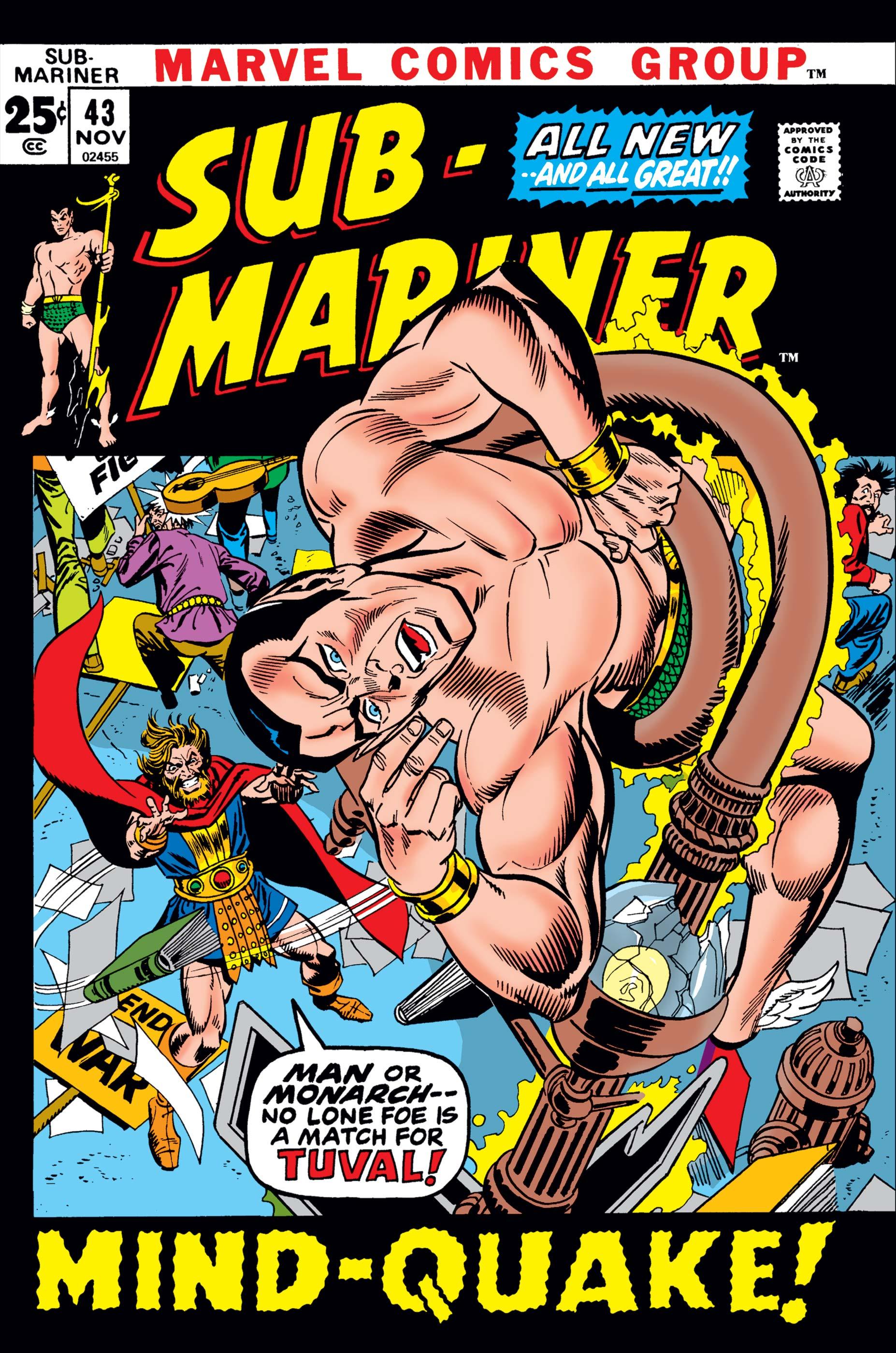 Sub-Mariner (1968) #43