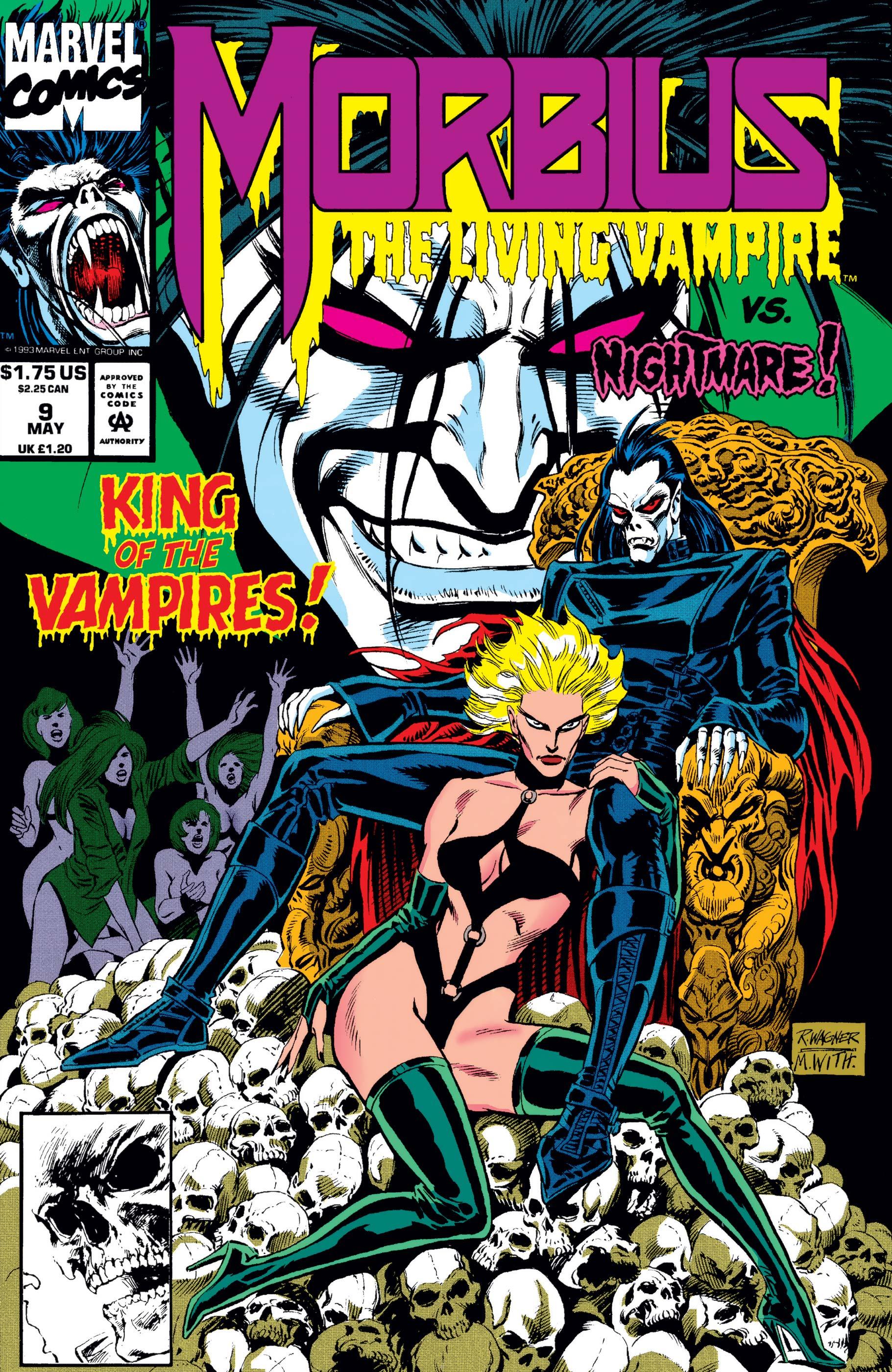 Morbius: The Living Vampire (1992) #9