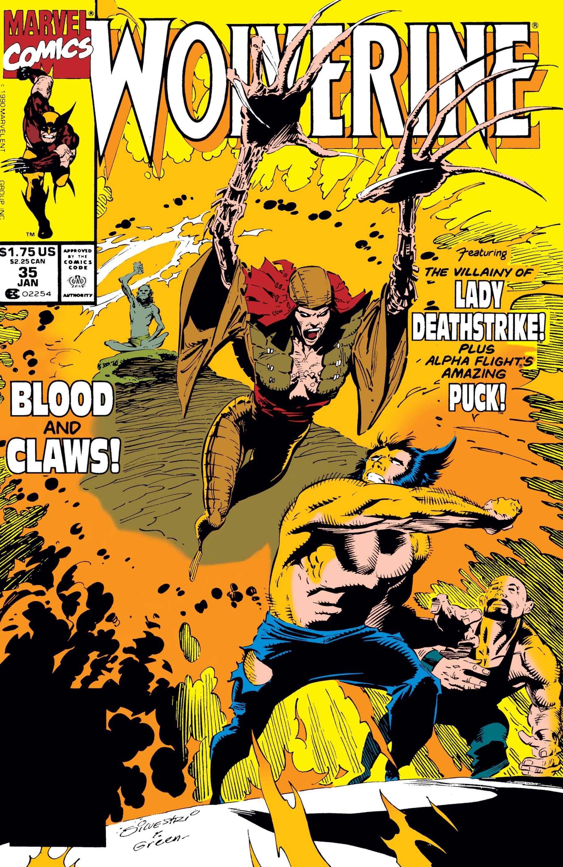 Wolverine (1988) #35