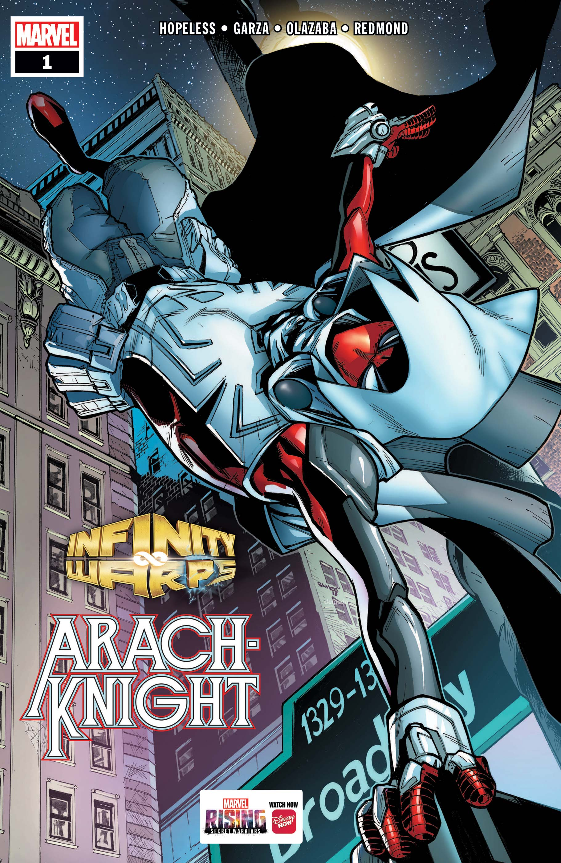 Infinity Wars: Arachknight (2018) #1