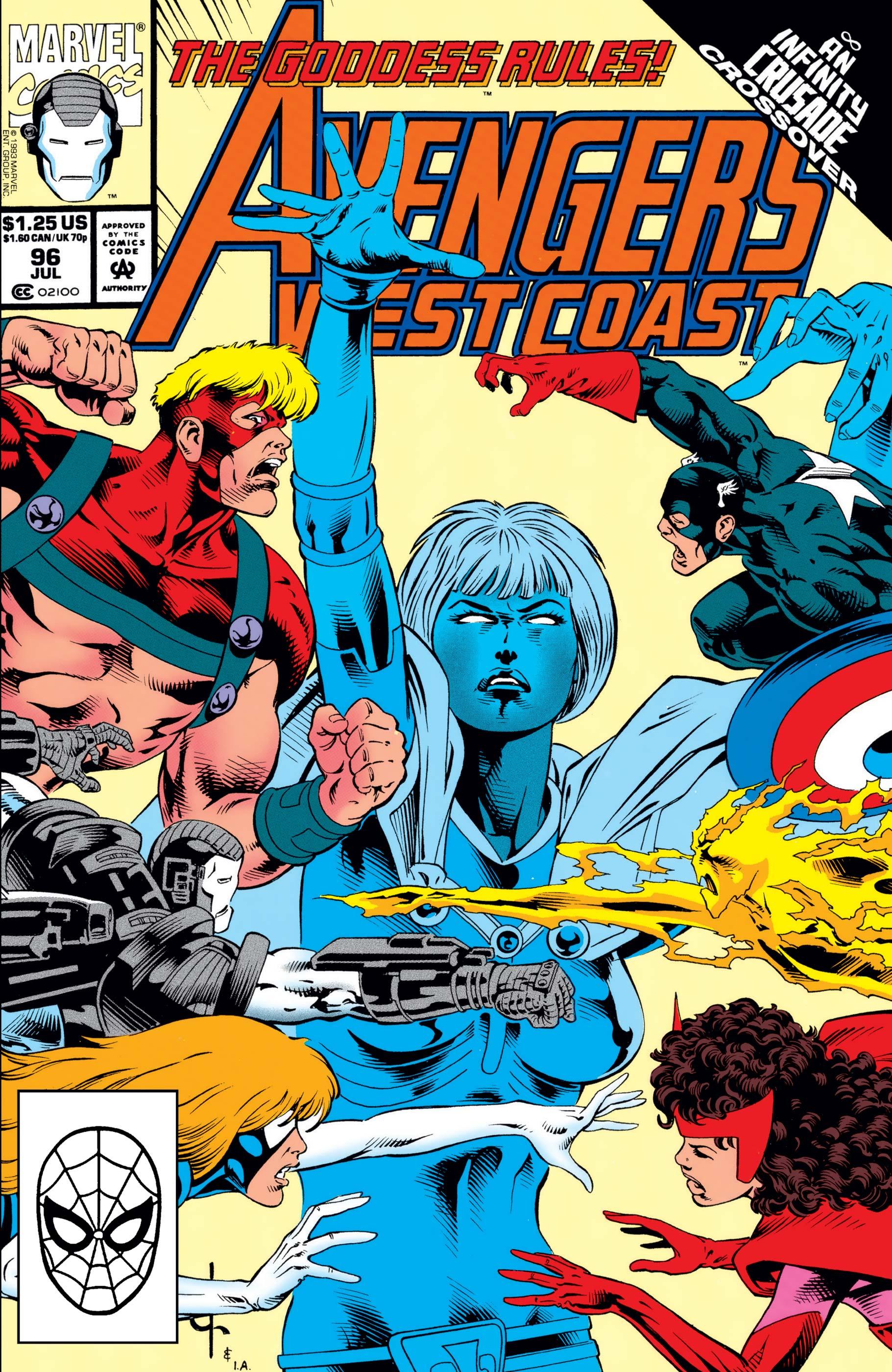 West Coast Avengers (1985) #96