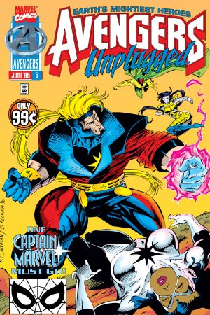Avengers Unplugged (1995) #5