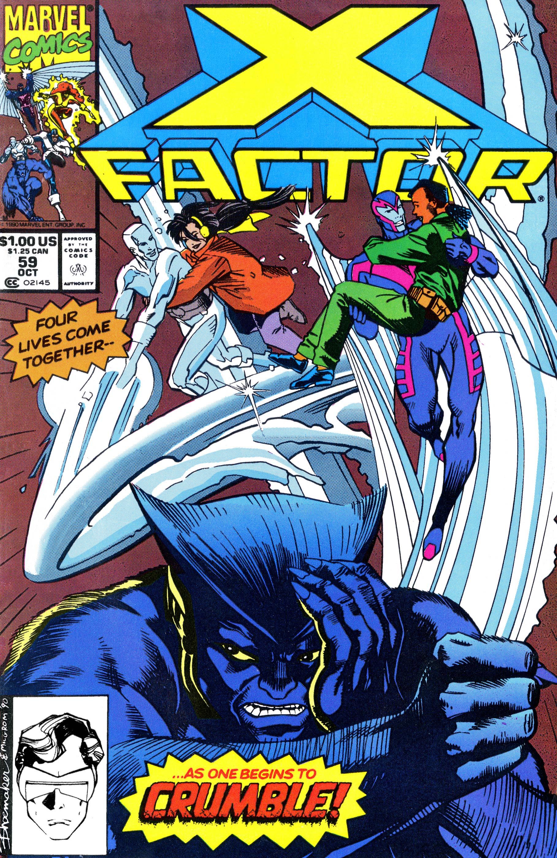 X-Factor (1986) #59