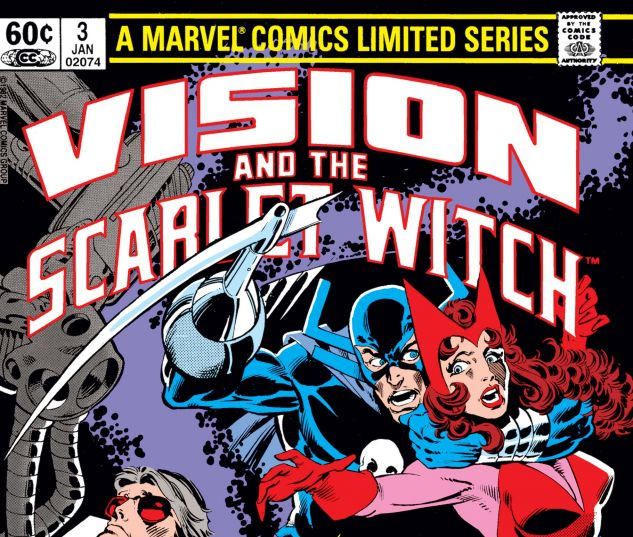 VISION AND THE SCARLET WITCH (1982) #3