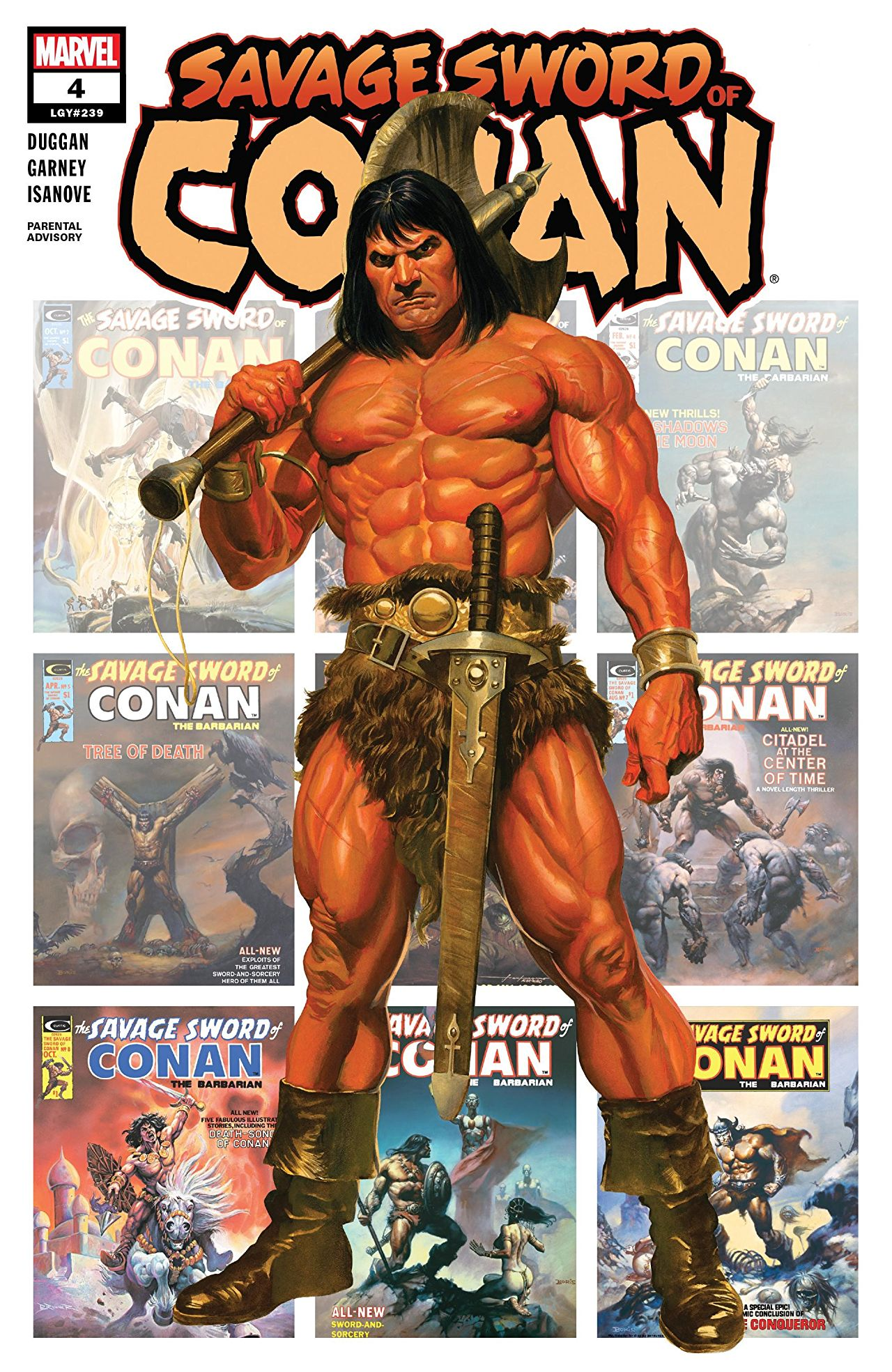Savage Sword of Conan (2019) #4
