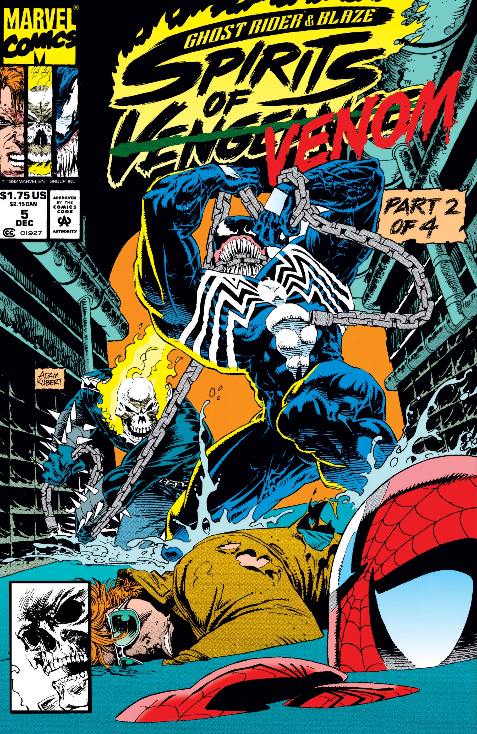 Ghost Rider/Blaze: Spirits Of Vengeance (1992) #5