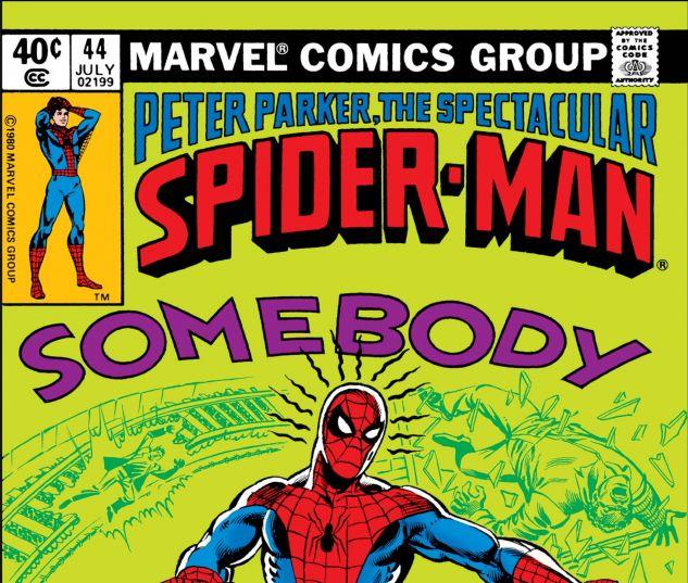 PETER PARKER, THE SPECTACULAR SPIDER-MAN (1976) #44