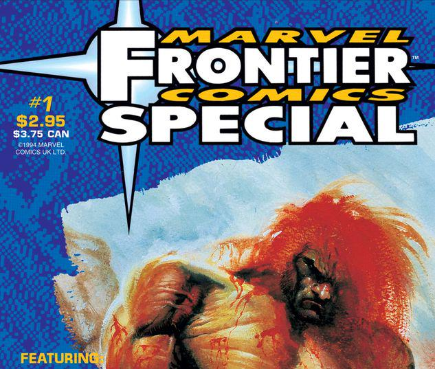 MARVEL FRONTIER COMICS UNLIMITED 1 #1