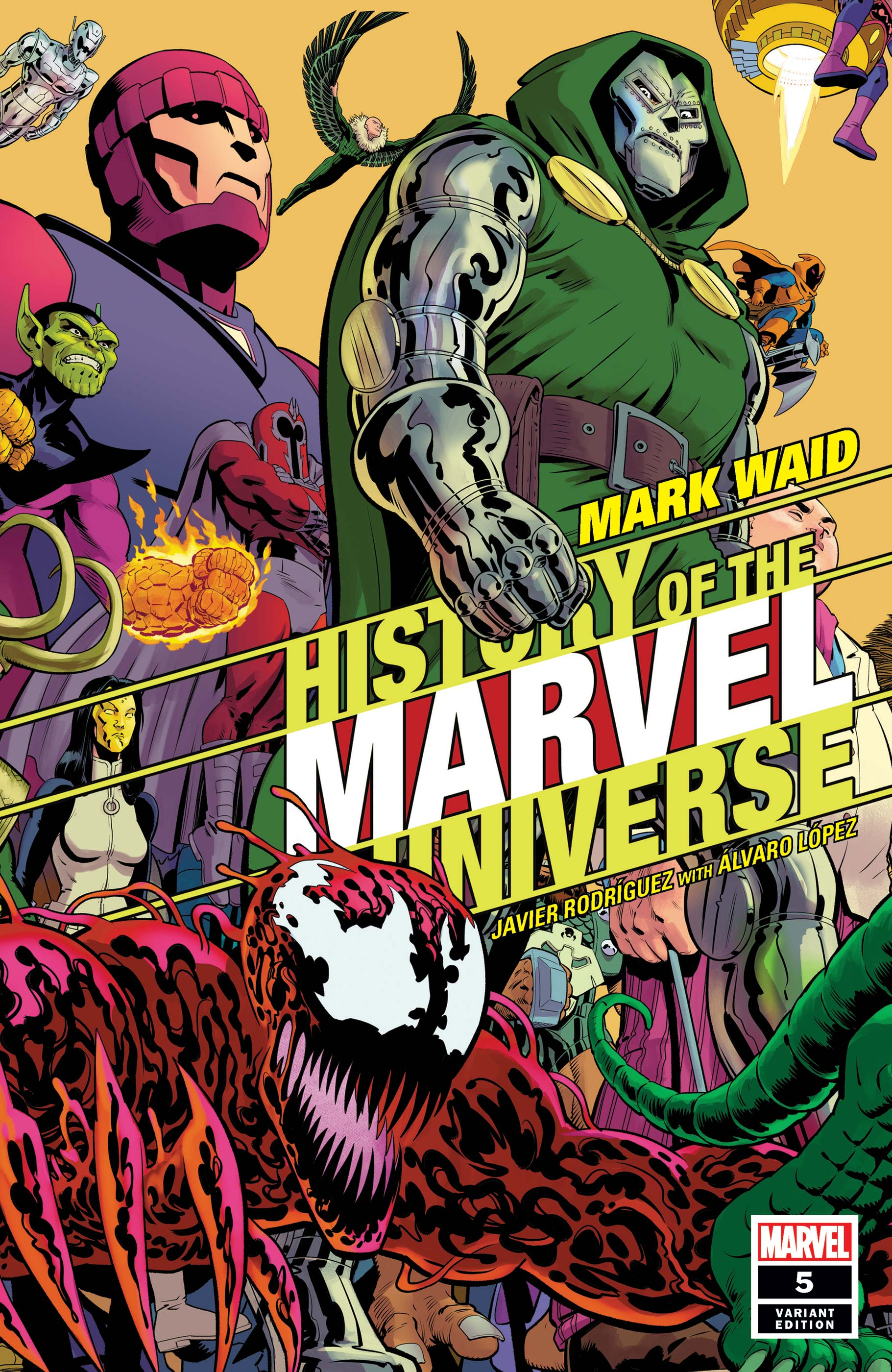 History of the Marvel Universe (2019) #5 (Variant)