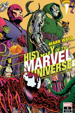 History of the Marvel Universe #5  (Variant)