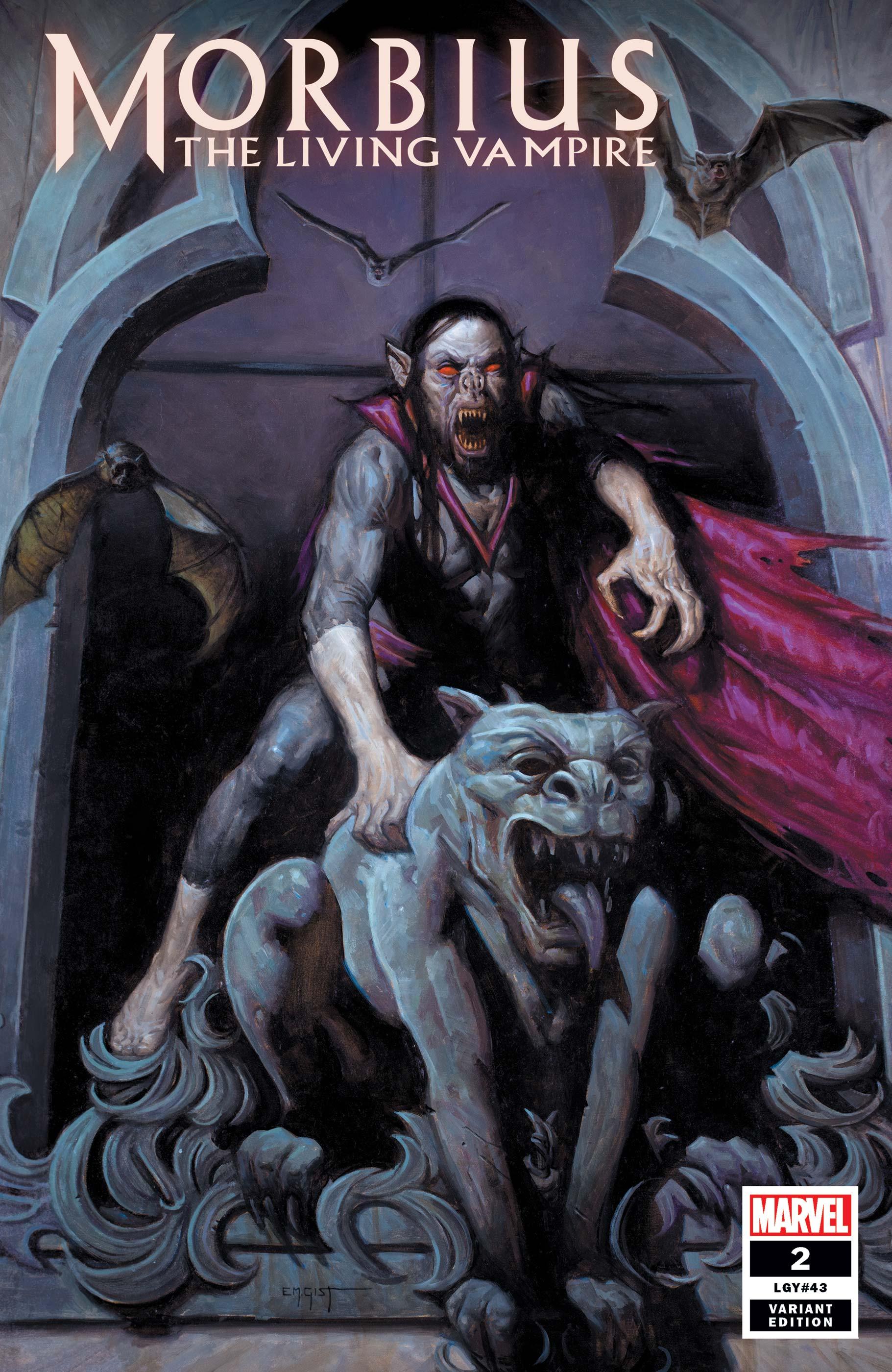 Morbius (2019) #2 (Variant)