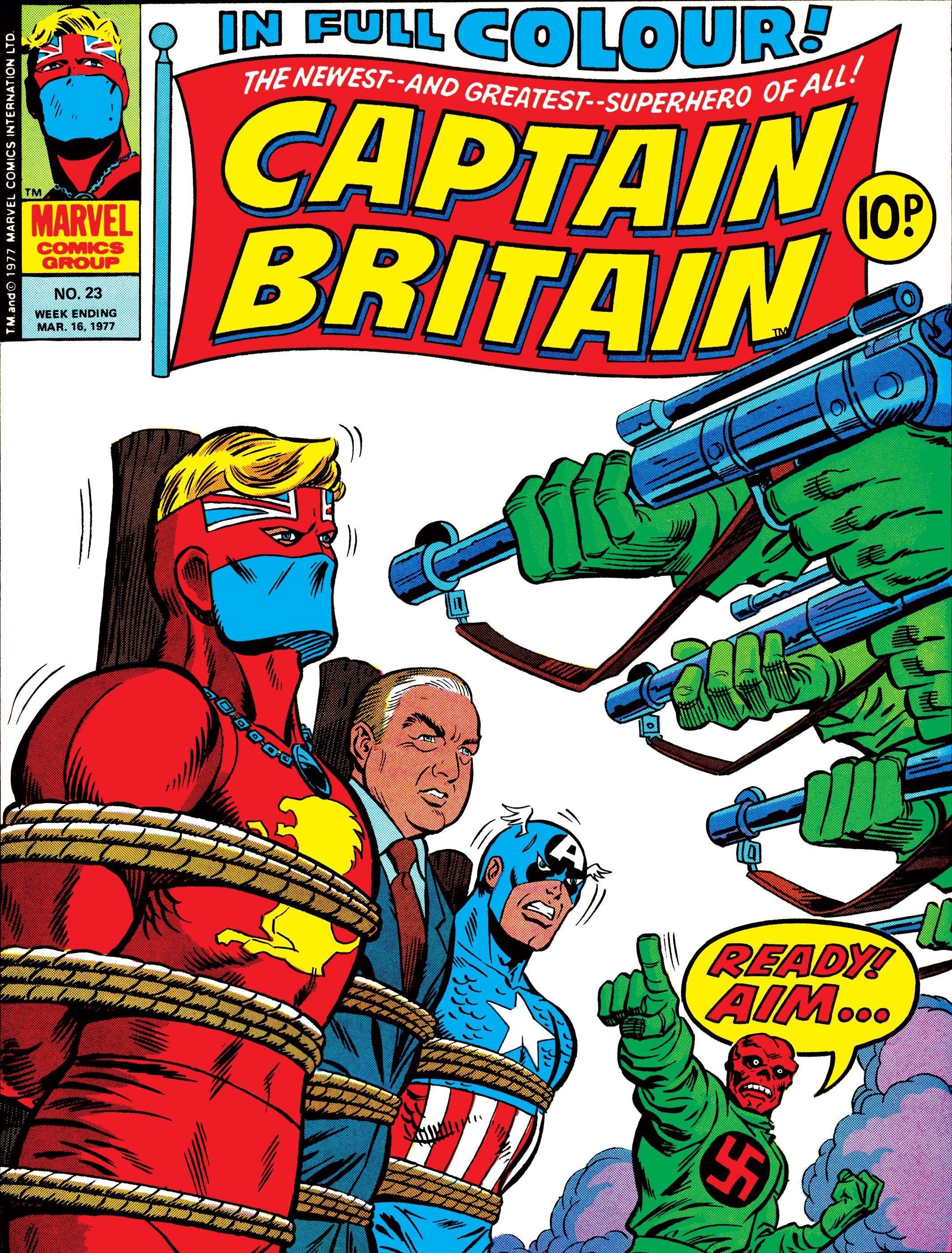 Captain Britain (1976) #23