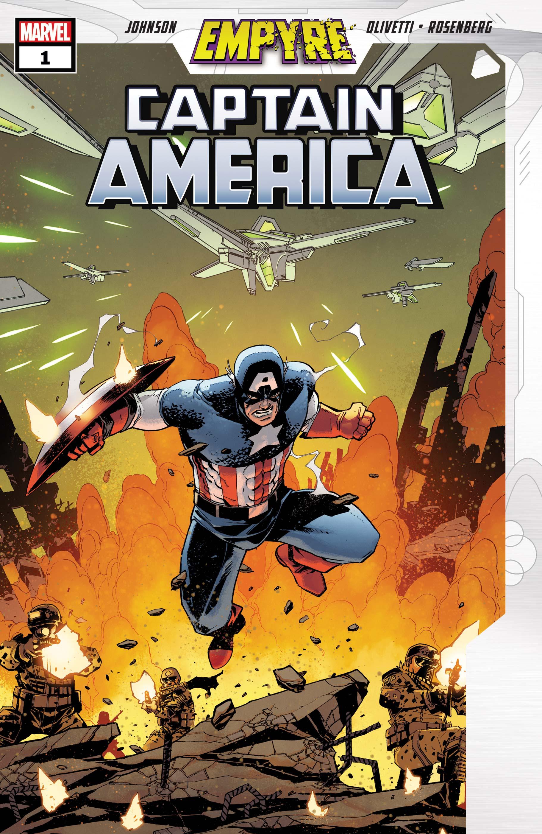 Empyre: Captain America (2020) #1