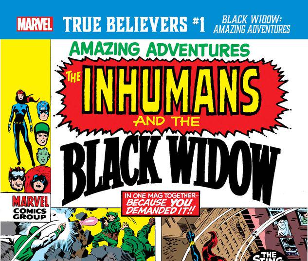 TRUE BELIEVERS: BLACK WIDOW - AMAZING ADVENTURES 1 #1