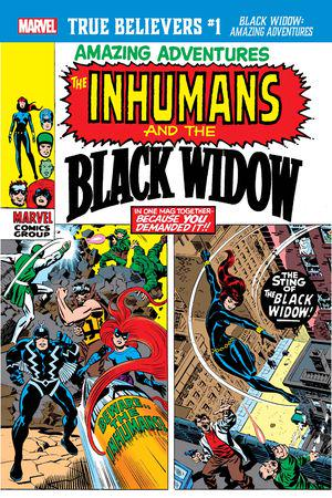 True Believers: Black Widow - Amazing Adventures #1