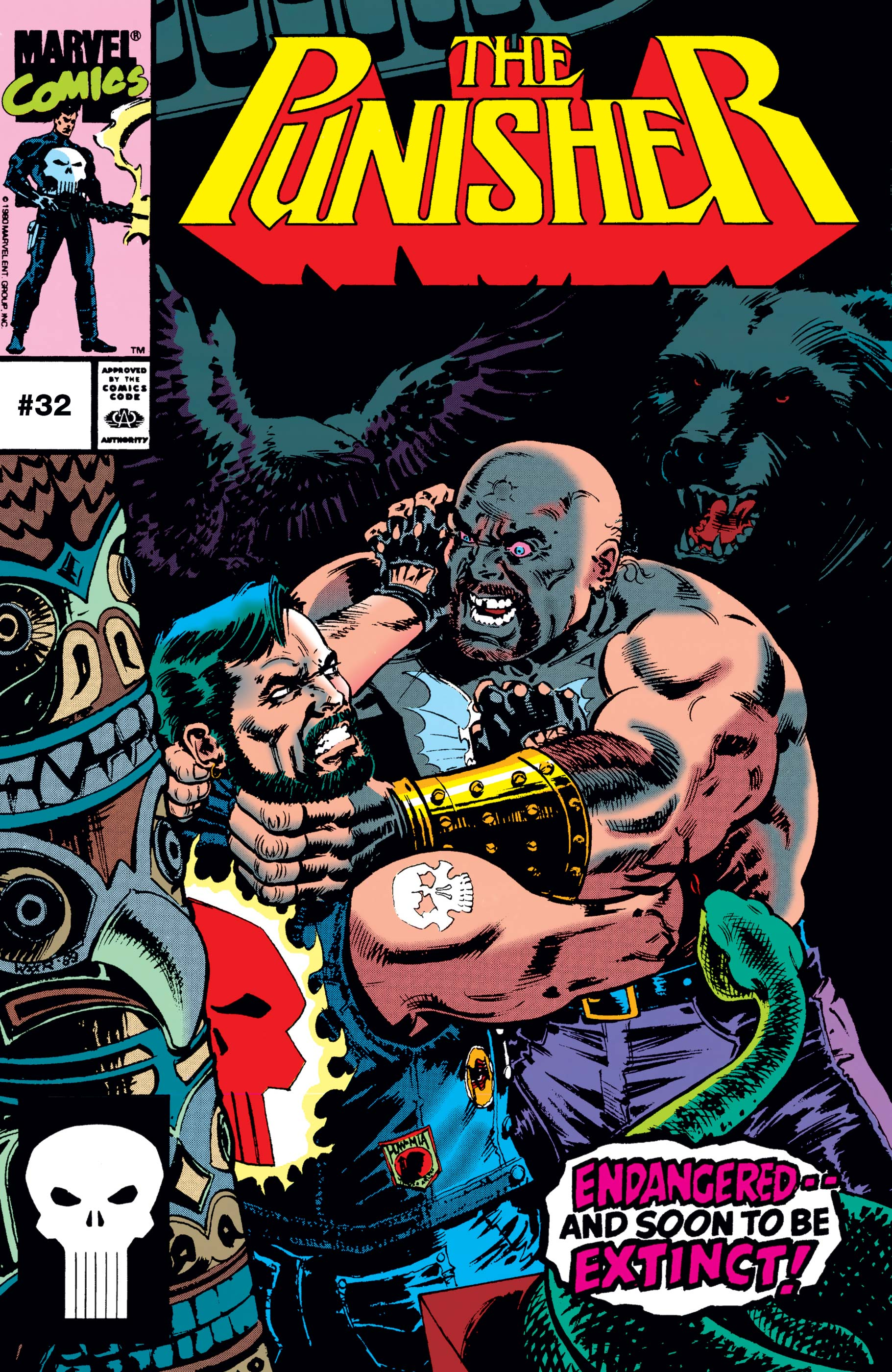 The Punisher (1987) #32