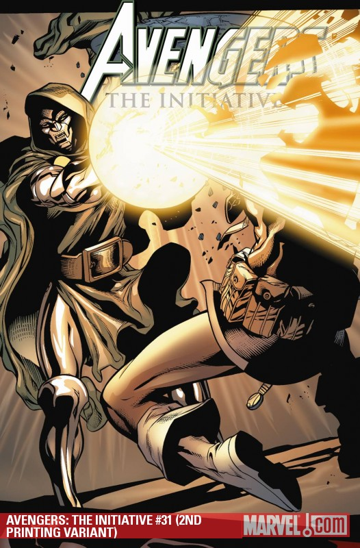Avengers: The Initiative (2007) #31 (2ND PRINTING VARIANT)