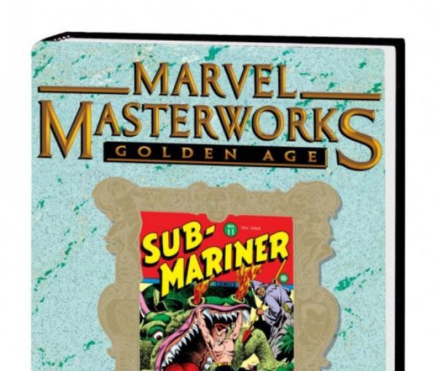 MARVEL MASTERWORKS: GOLDEN AGE SUB-MARINER (VARIANT)