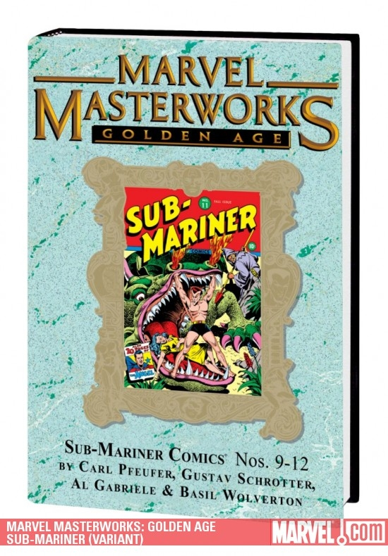Marvel Masterworks: Golden Age Sub-Mariner Vol. 3 (Variant) (Hardcover)