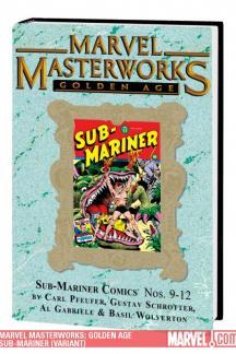 Marvel Masterworks: Golden Age Sub-Mariner Vol. 3 (Variant) (Hardcover)