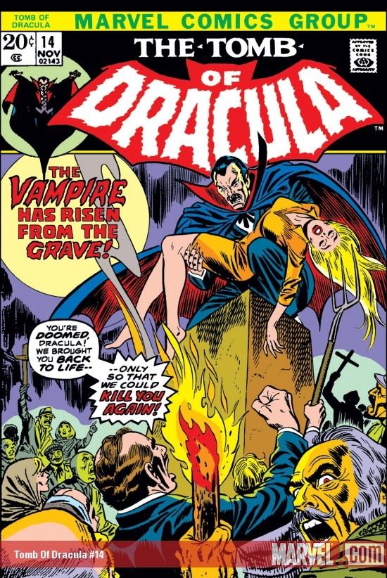 Tomb of Dracula (1972) #14
