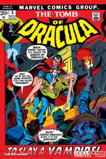 Tomb of Dracula (1972) #5