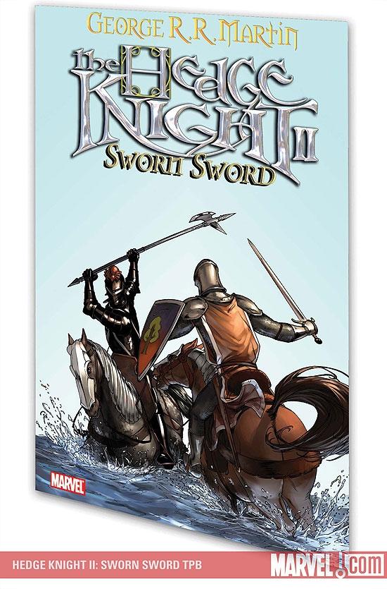 Hedge Knight II: Sworn Sword (Trade Paperback)
