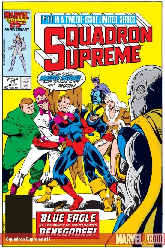 Squadron Supreme (1985) #11