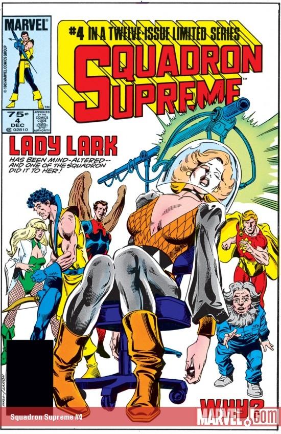 Squadron Supreme (1985) #4