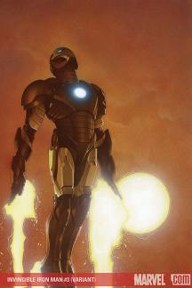 Invincible Iron Man (2008) #3 (CHAREST (50/50 COVER))