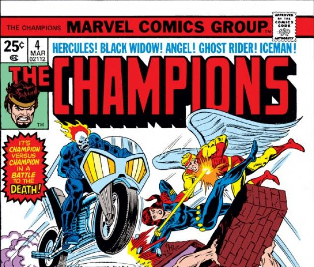 CHAMPIONS #4 COVER
