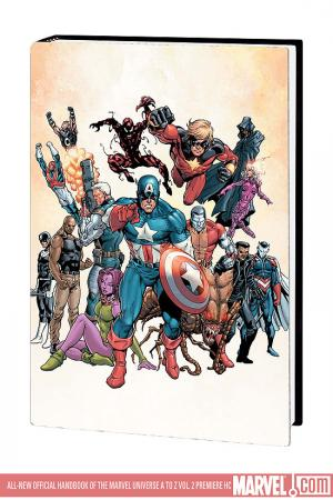 All-New Official Handbook of the Marvel Universe a to Z Vol. 2 (Hardcover)
