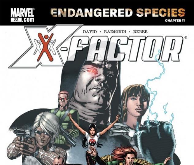 X-MEN: ENDANGERED SPECIES BACK-UP STORY #11