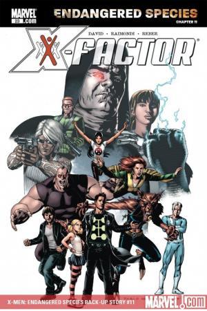 X-Men: Endangered Species Back-Up Story (2007) #11