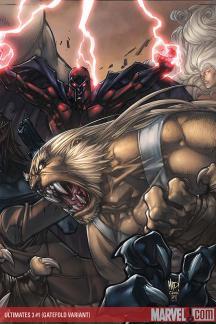 Ultimates 3 (2007) #1 (Villains Gatefold)