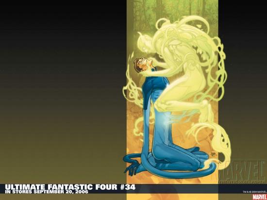 Ultimate Fantastic Four (2003) #34 Wallpaper