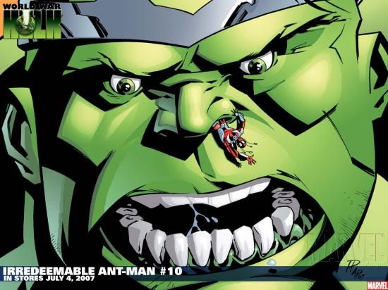 Irredeemable Ant-Man (2006) #10 Wallpaper