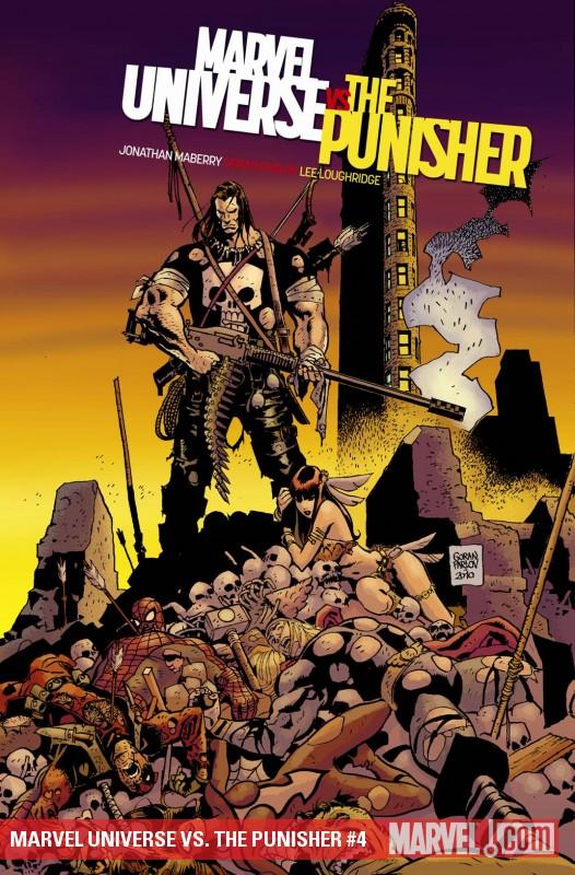Marvel Universe Vs. the Punisher (2010) #4