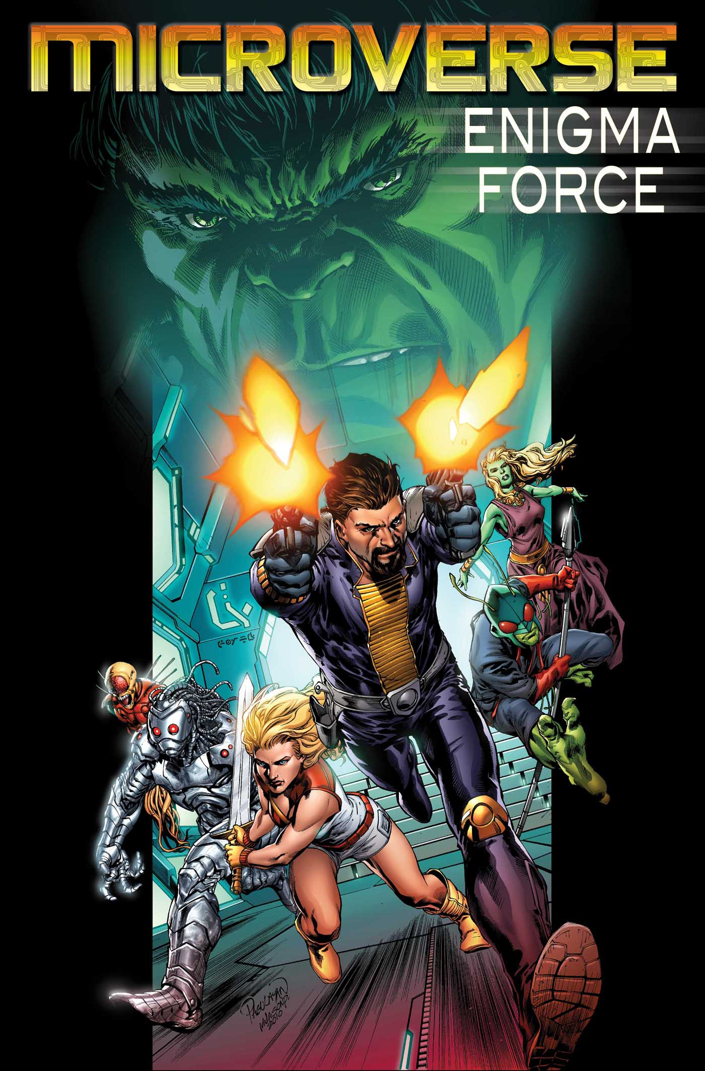 Microverse: Enigma Force (2010) #1