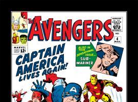 The Avengers #4 cover art