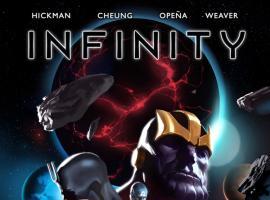 Infinity #1 variant cover by Marko Djurdjevic