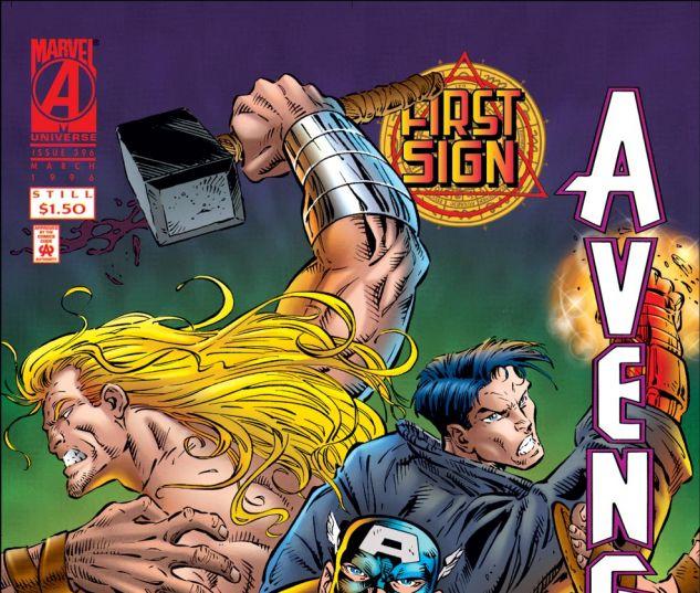 Avengers (1963) #396 Cover